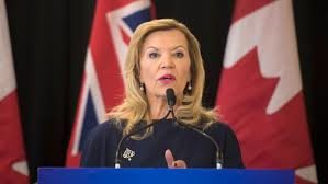 Christine Elliott Deptuty Preminer and Minister of Health & Long Term Care