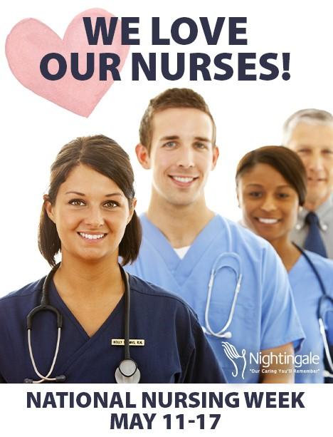 We love our Nurses Celebration